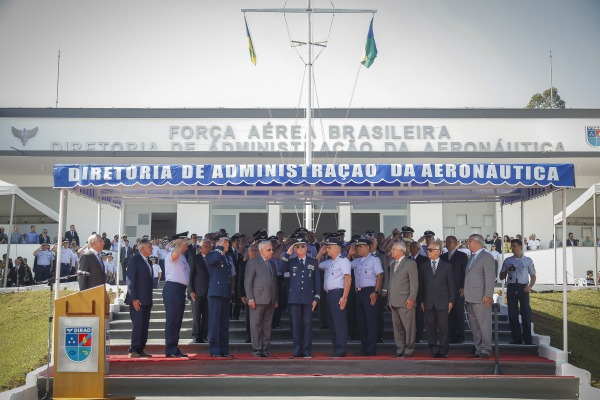 Diretoria de Administração da Aeronáutica realizou cerimônia militar em comemoração à data