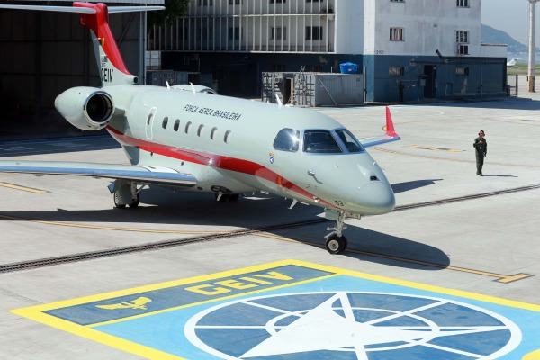 Terceira aeronave foi entregue nesta quinta-feira (23)