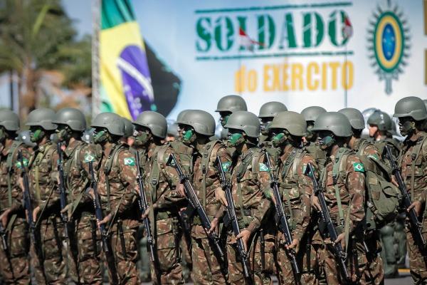 A data de 25 de agosto é comemorada como Dia do Soldado