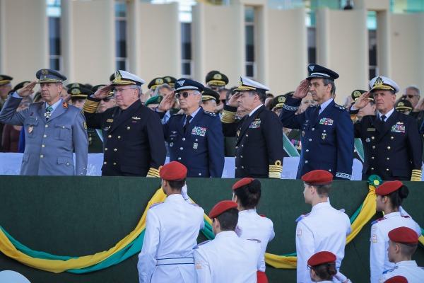 Comandante da Força Aérea participou da solenidade