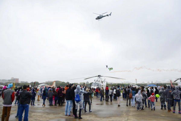 Domingo Aéreo foi realizado no Parque de Material Aeronáutico de São Paulo
