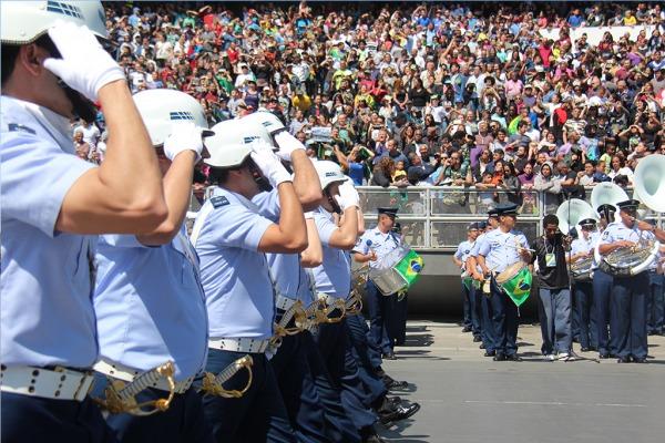 Veja como foi a participação do efetivo da Força Aérea Brasileira em vários estados