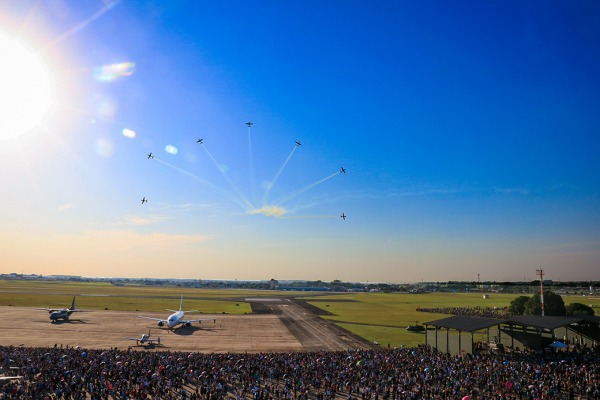 Mais de 90 mil pessoas participaram dos eventos nas duas Organizações Militares