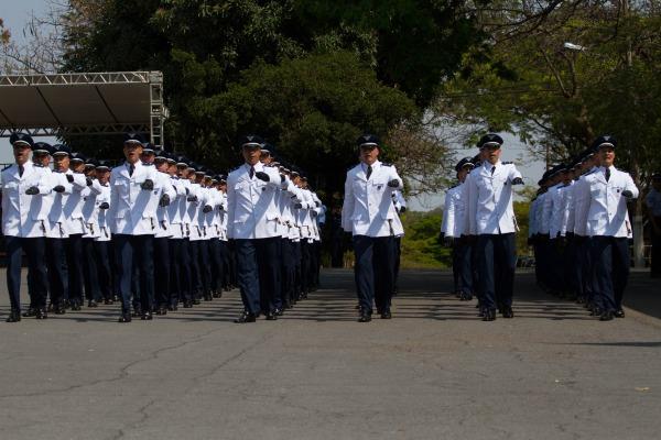 Essa foi a última turma formada na cidade já que a Organização Militar vai ser sediada em Lagoa Santa