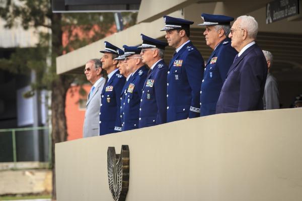 Oficiais-generais da FAB prestigiaram a cerimônia