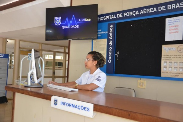 Aplicativo de Gestão Hospitalar visa gerenciar todas as Organizações de Saúde da Aeronáutica