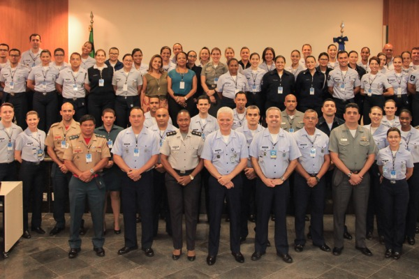 O curso chegou ao fim após cinco dias de palestras e oficinas ministradas por militares da Força Aérea e profissionais da área de comunicação