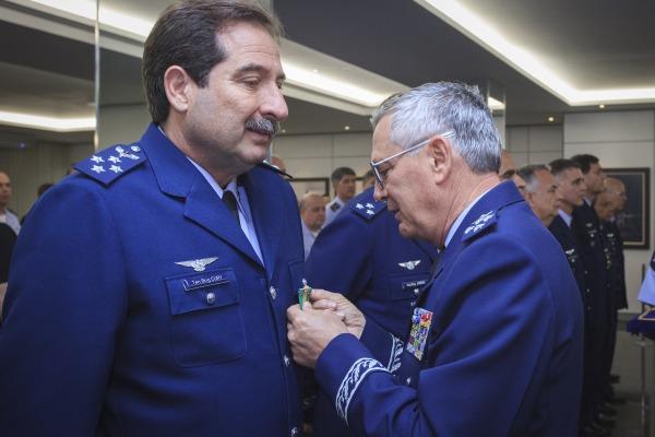 Tenente-Brigadeiro Cury foi um dos agraciados