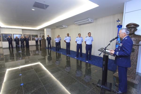 Comandante da FAB presidiu a cerimônia