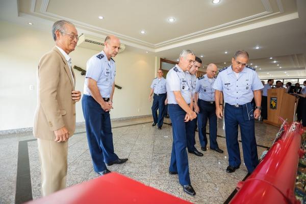 Após a cerimônia, convidados visitaram as instalações