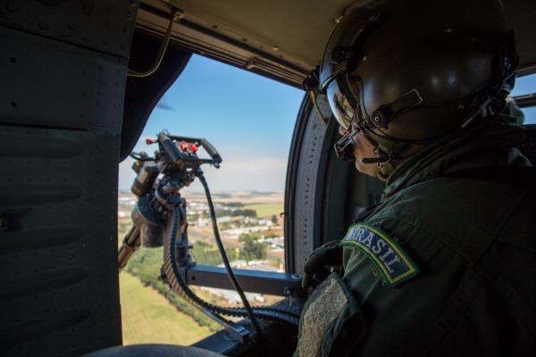 Operação objetivou testar as estruturas conjuntas nos diversos níveis de comando