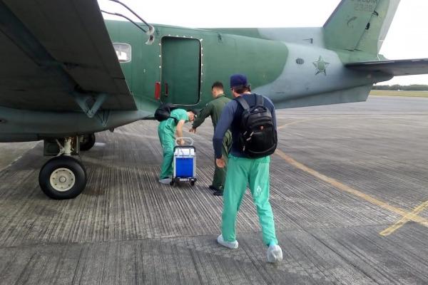No último acionamento, tripulação buscou fígado e rins em Petrolina (PE) para salvar vidas em Recife (PE)