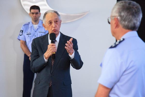Em Brasília, Tenente-Brigadeiro Lôbo parabenizou o atual Comandante da FAB