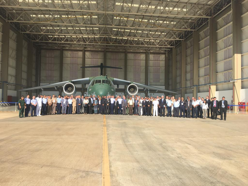 A visita foi realizada por embaixadores, adidos e integrantes do Ministério das Relações Exteriores