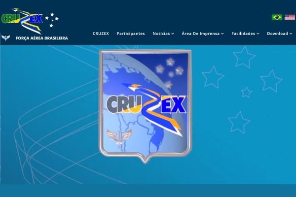 O site tem versões de textos em português e inglês