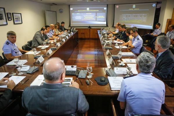 Esta foi a quarta reunião do grupo que trabalha pela potencialização do Programa Espacial