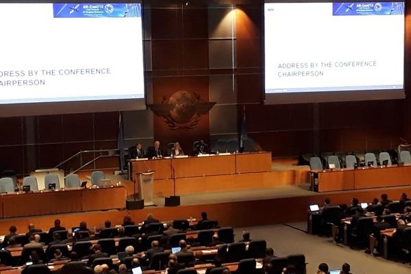 Delegação apresentou trabalhos que visam segurança e discutiu prioridades para a comunidade aeronáutica