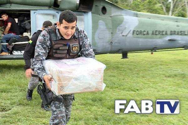 O programa mostra o apoio dado pela Força Aérea à Justiça Eleitoral durante as Eleições de 2018