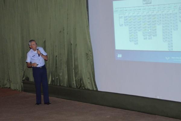 Foram enfatizados os projetos estratégicos que serão sediados na Ala 2, como o KC 390 e o F-39 Gripen