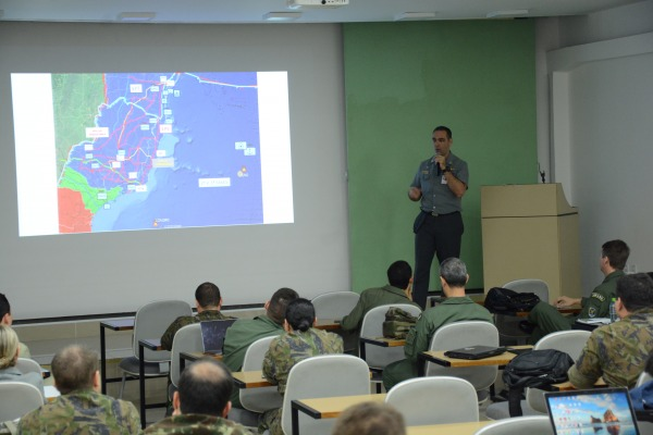 Esse é o maior exercício conjunto de planejamento e condução de operações militares do Ministério da Defesa