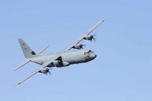 Aeronave CC-130J, do Canadá