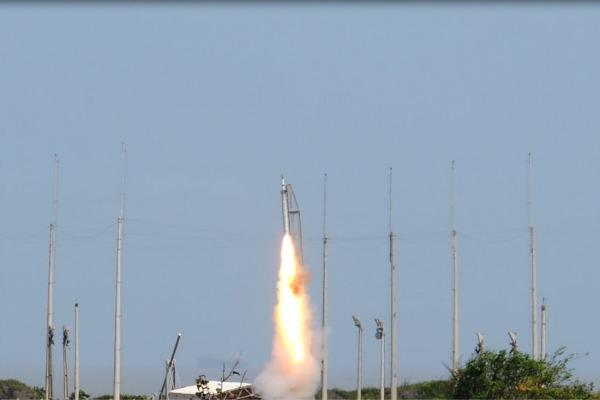 O veículo atingiu 31 quilômetros de altitude máxima em um minuto e 17 segundos