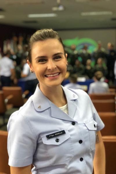 Tenente Rovella é psicóloga do IPA