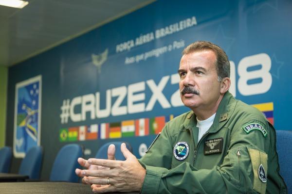 Brigadeiro Medeiros, Comandante da Ala 10 e Diretor da CRUZEX 2018, traz mais detalhes do exercício que começa no dia 18