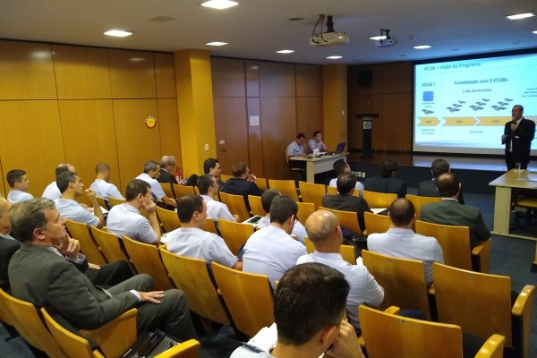 O evento fez parte do Estágio de Adidos e Oficiais da Aeronáutica que cumprirão missões no Exterior a partir de 2019