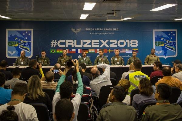 Profissionais de imprensa puderam tirar dúvidas sobre a CRUZEX 2018