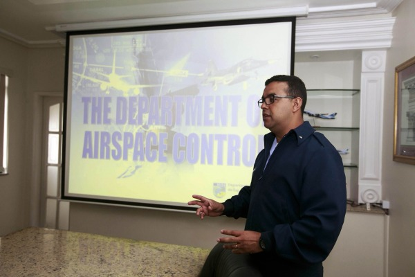 Tenente Lôbo Junior apresenta o trabalho do CGNA