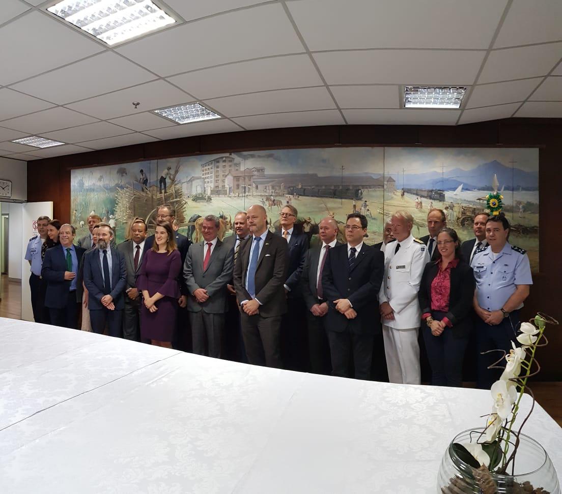 Encontro realizado em Brasília (DF) contou com a presença de representantes do Governo, Indústria e Academia dos dois países