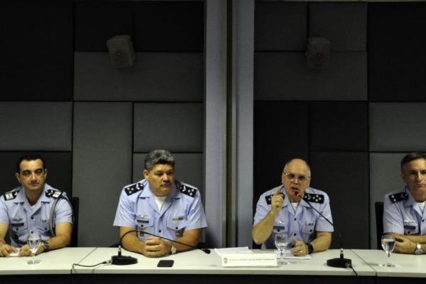 """Futuro Comandante da Aeronáutica abordou o tema """"A Força Aérea Brasileira"""""""