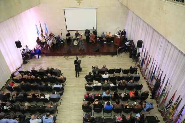 Comemoração contou com palestra e apresentação musical