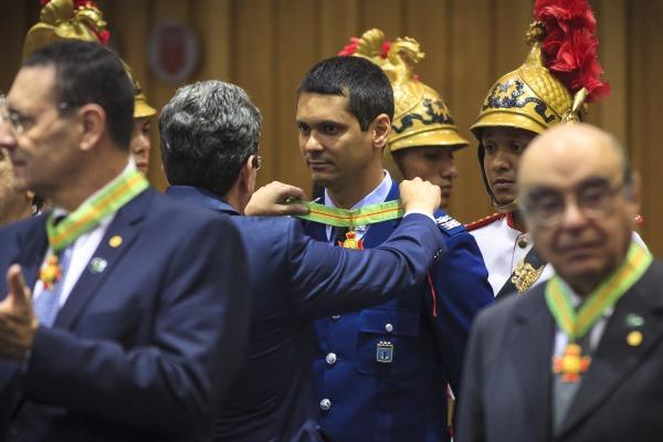 Tenente-Coronel Marcelo representou o EDA