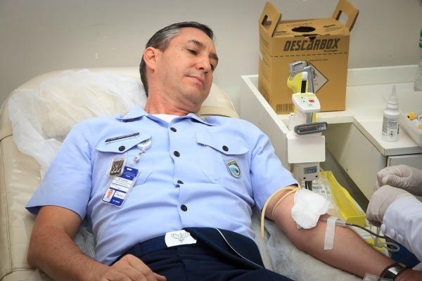 Doação de sangue acontece mensalmente