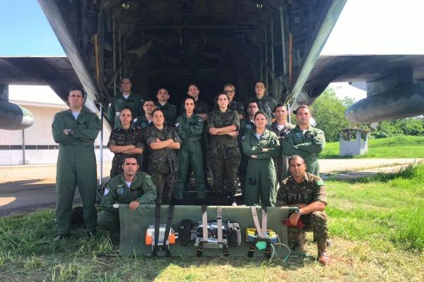 Curso foi voltado para evacuação aeromédica em ambiente operacional e tático