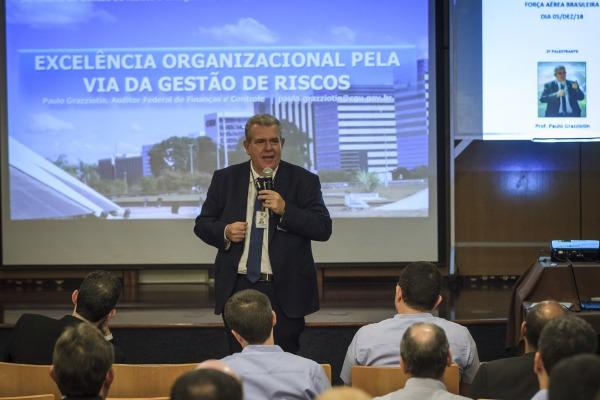 Evento promovido pelo Estado-Maior da Aeronáutica reúne elos de governança de toda a Força Aérea em Brasília