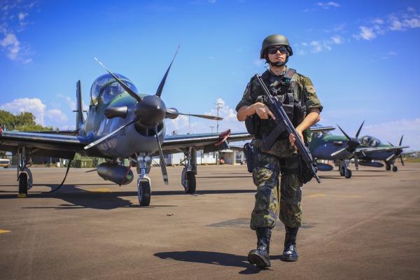 Reportagem apresenta histórico e cenário atual da Infantaria da Aeronáutica