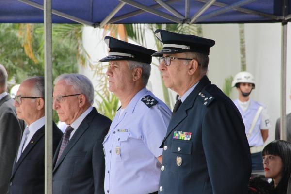Além de cerimônia militar, a programação contou ainda com a realização de Jornada Científica, palestra e visita ao LAQFA
