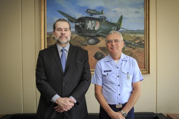 Foi a primeira visita do Ministro desde que assumiu a Presidência do Supremo Tribunal Federal
