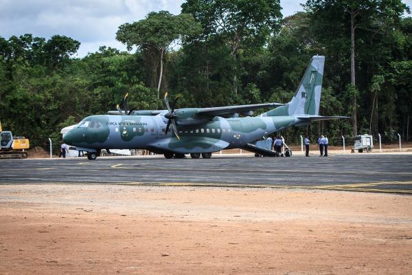 Nova pista vai permitir o pouso e a decolagem de aeroanves maiores