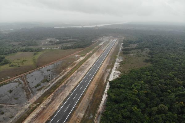 Obras permitem uma maior integração da região Norte ao país