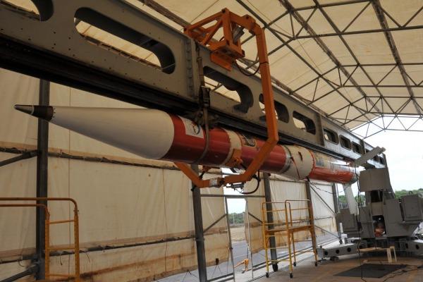 O veículo transportou cinco experimentos científicos e tecnológicos de centros e institutos de pesquisa brasileiros
