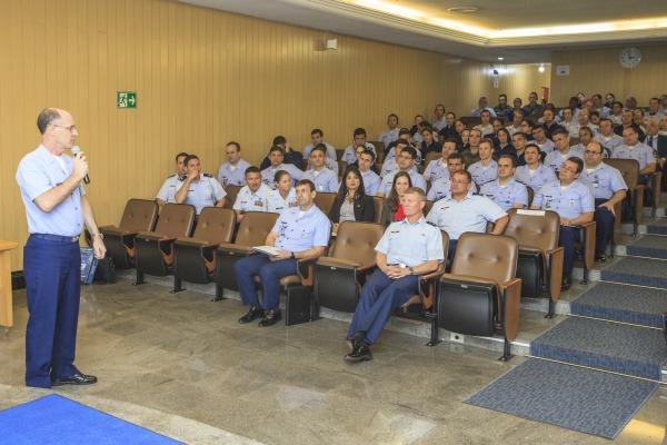 Major-Brigadeiro Jefson agradeceu a apresentação
