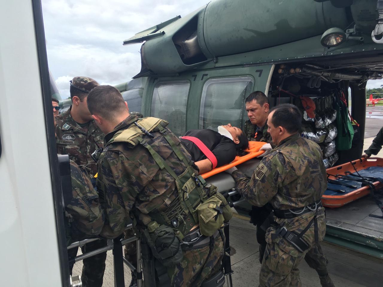 Acidente aconteceu na segunda (17) e resgate foi realizado na manhã de terça-feira (18)