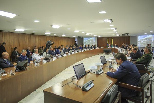 Durante encontro, Tenente-Brigadeiro Rossato fez balanço das atividades da Força Aérea