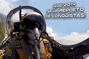Veja o vídeo preparado pela Força Aérea Brasileira para celebrar a chegada do ano novo
