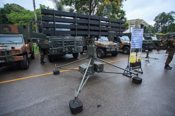 Radares Saber M 60 possuem a capacidade de detectar alvos a baixa altura