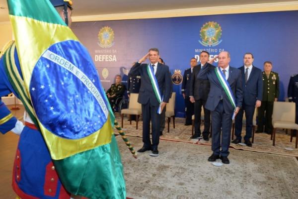 A transmissão de cargo foi realizada na quarta-feira (2) em Brasília (DF)